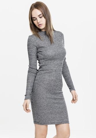 Urban Classics Kootud kleit, värv hall