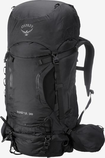 Osprey Wanderrucksack 'Kestrel 38' in schwarz, Produktansicht