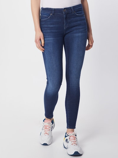 Noisy may Jeans in blau / blue denim: Frontalansicht