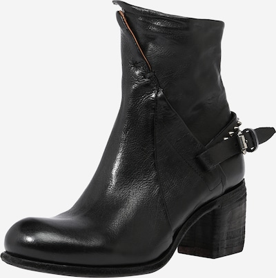A.S.98 Bootie 'SOSTENI' in Black, Item view