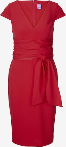 Rochie mulate de la heine pe roșu