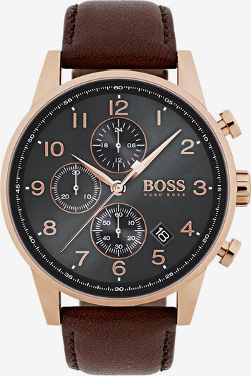 BOSS Casual Uhr in braun, Produktansicht