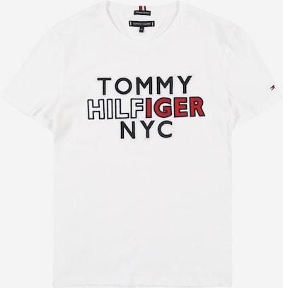 Tricou 'NYC' TOMMY HILFIGER pe albastru noapte / roșu / alb, Vizualizare produs