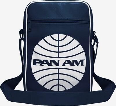 LOGOSHIRT Tasche 'Pan Am - Pan American World Airways' in dunkelblau / weiß, Produktansicht
