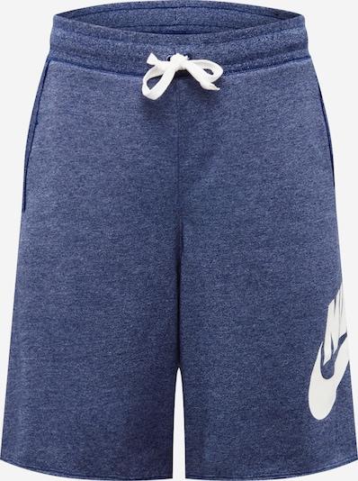 Nike Sportswear Spodnie w kolorze nakrapiany niebieski / białym, Podgląd produktu