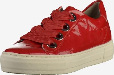 Jenny Sneaker in rot, Produktansicht