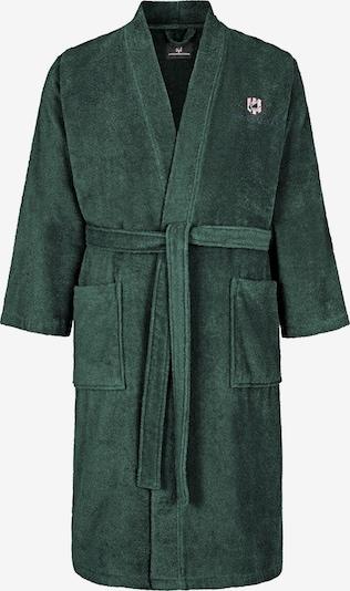 Jan Vanderstorm Badjas lang  'Janning' in de kleur Smaragd, Productweergave