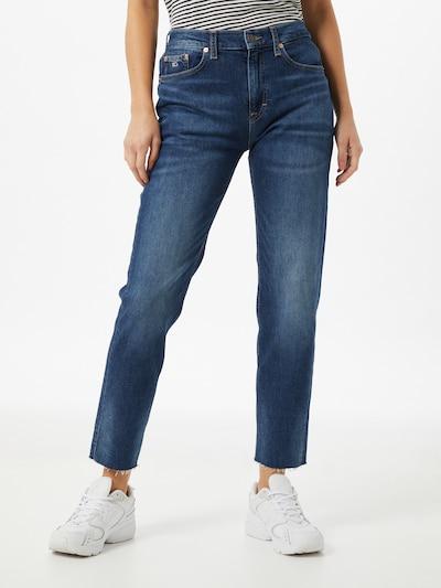 Tommy Jeans Jeans 'IZZY' in de kleur Blauw denim, Modelweergave