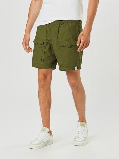 Brooklyn Supply Co. Cargobukser 'Utility' i khaki, Modelvisning