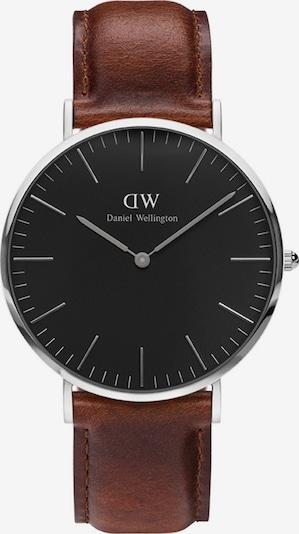 Daniel Wellington Uhr 'Classic Black St Mawes DW00100130' in kastanienbraun / schwarz / silber, Produktansicht