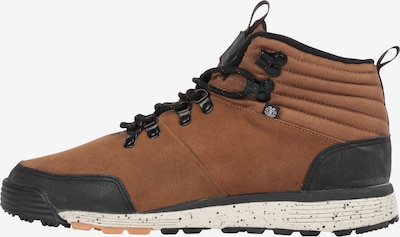 ELEMENT Boots 'Donnelly Light' in de kleur Bruin / Zwart, Productweergave