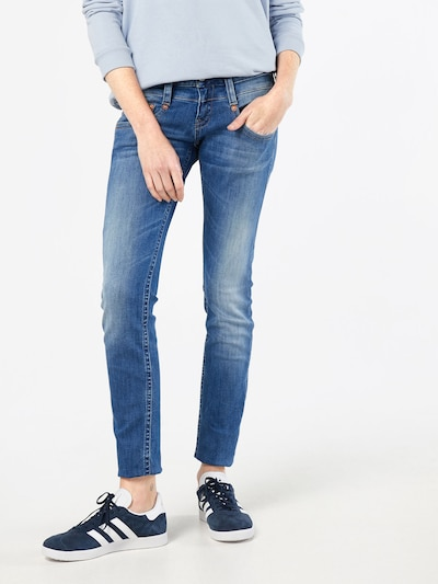 Herrlicher 'Pitch' Slim Fit Jeans in blue denim, Modelansicht