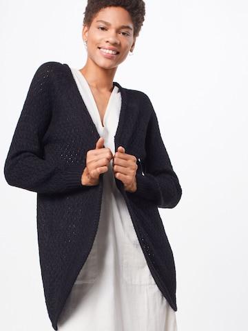 ICHI Knit Cardigan 'Olanda' in Black