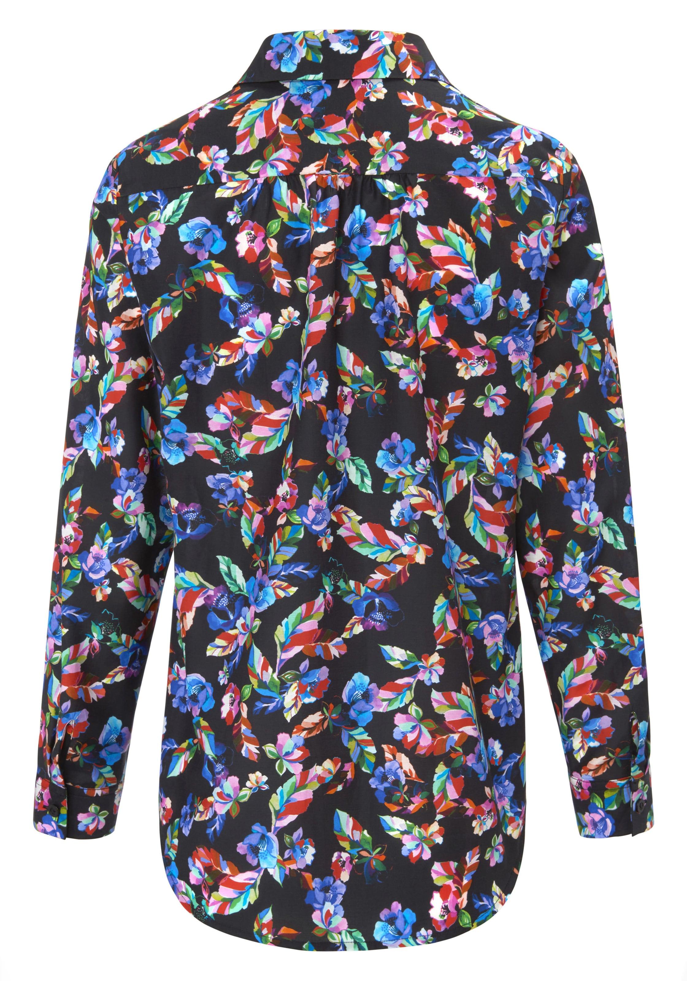 Hemdkragen Bluse In Looxent Mit Mischfarben odCWrxBe
