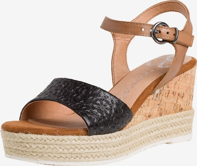 MARCO TOZZI Sandalette in schwarz, Produktansicht