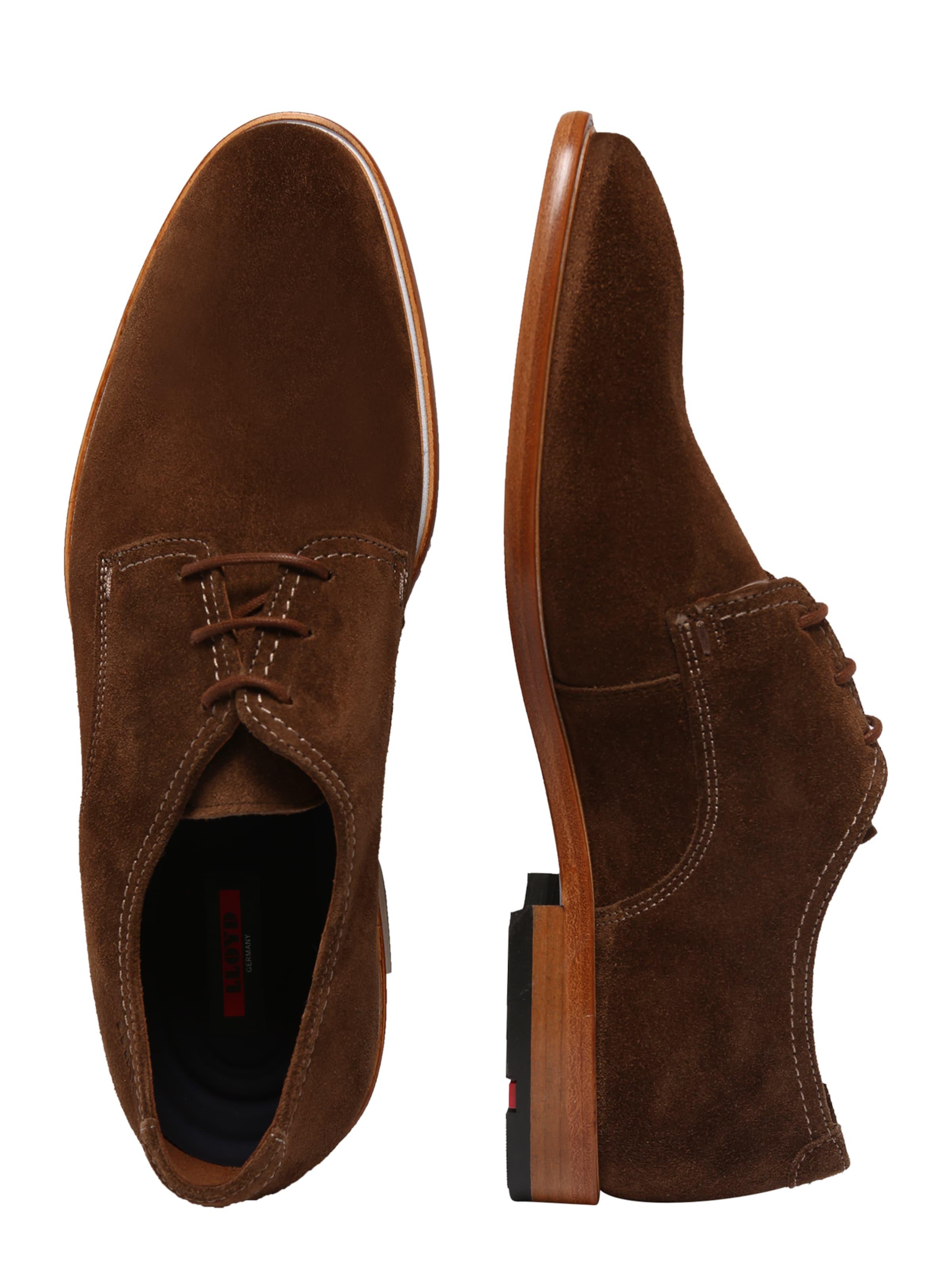À Chaussure Lacets Lloyd En Cognac N0kXn8PwO