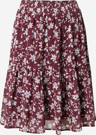 Guido Maria Kretschmer Collection Rok 'Sophie' in de kleur Bordeaux, Productweergave