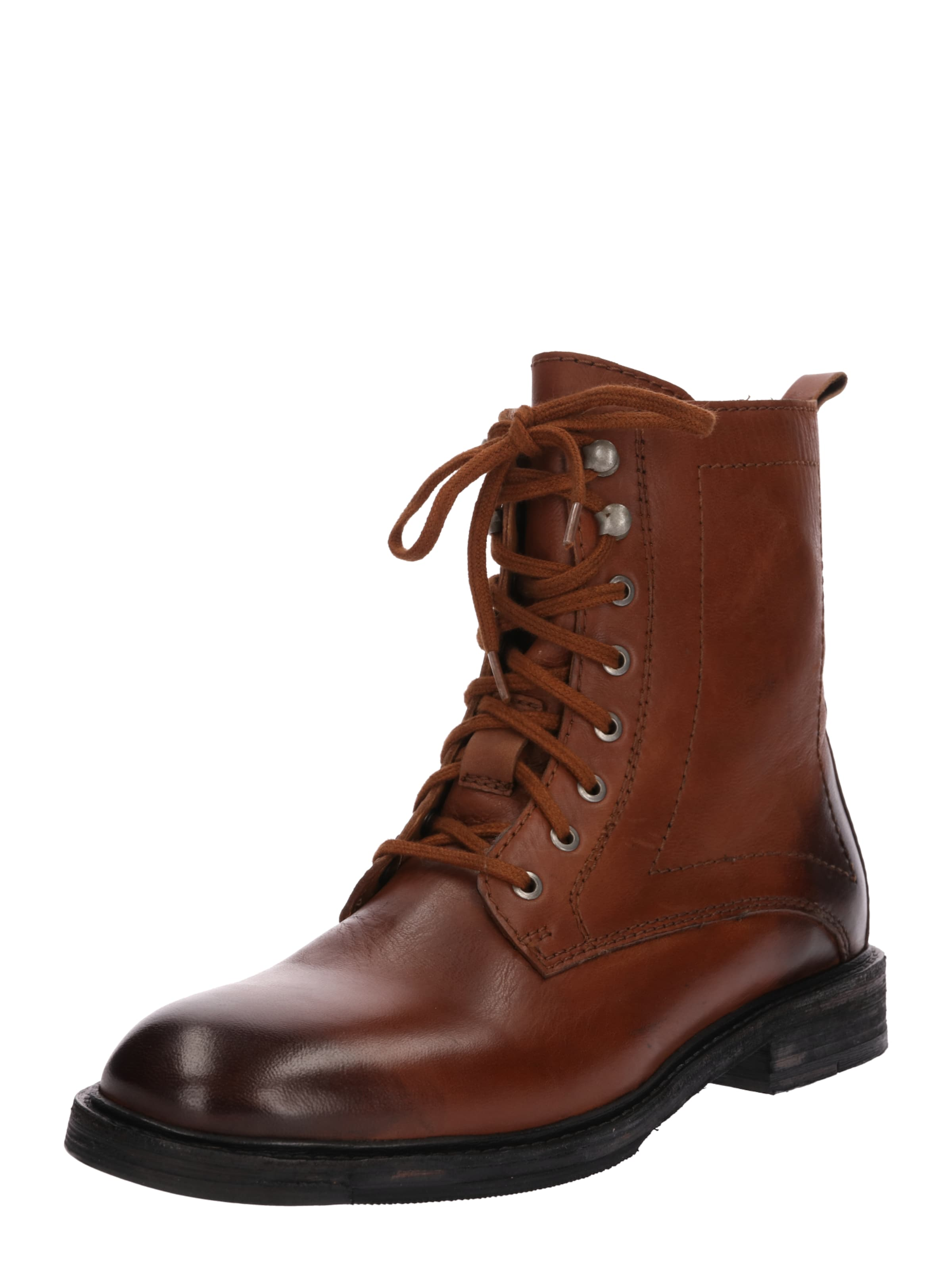 En Tigha Lacets 'matthew' Châtaigne Bottines Marron À PZuOkiX