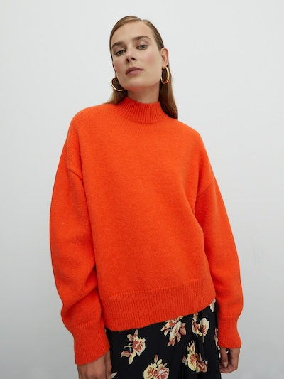 EDITED Sweater 'Katara' in Orange red, View model
