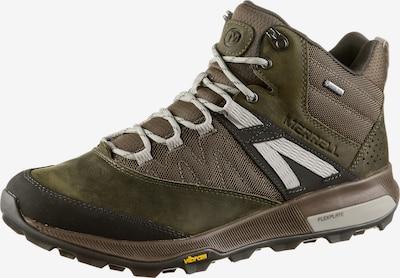 MERRELL Wanderschuhe 'Zion Mid GTX M' in oliv, Produktansicht