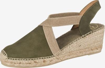 Toni Pons Sandalette 'Tona' in beige / khaki, Produktansicht