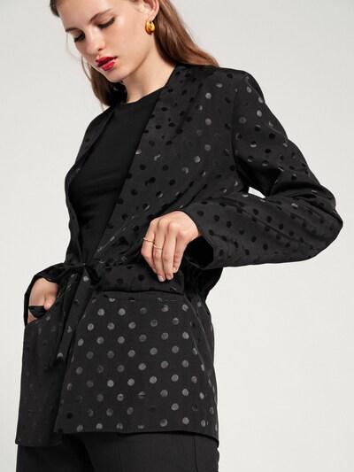 EDITED Blazer 'Beline' in schwarz, Modelansicht