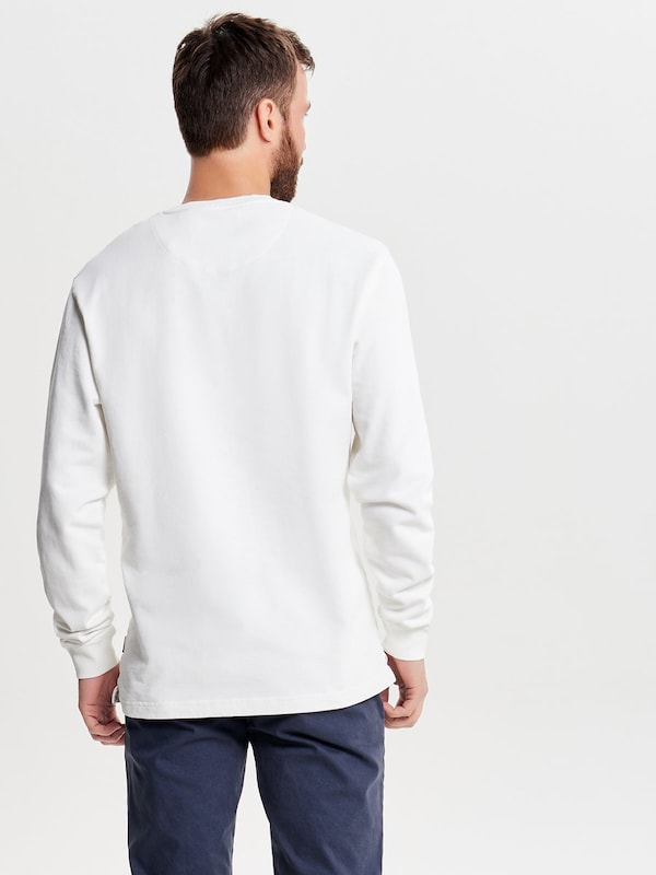 Only & Sons Print Sweatshirt