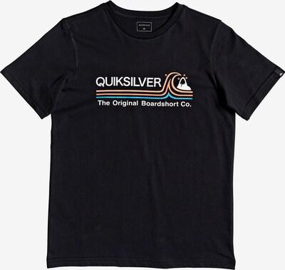 QUIKSILVER T-Shirt in mischfarben / schwarz, Produktansicht