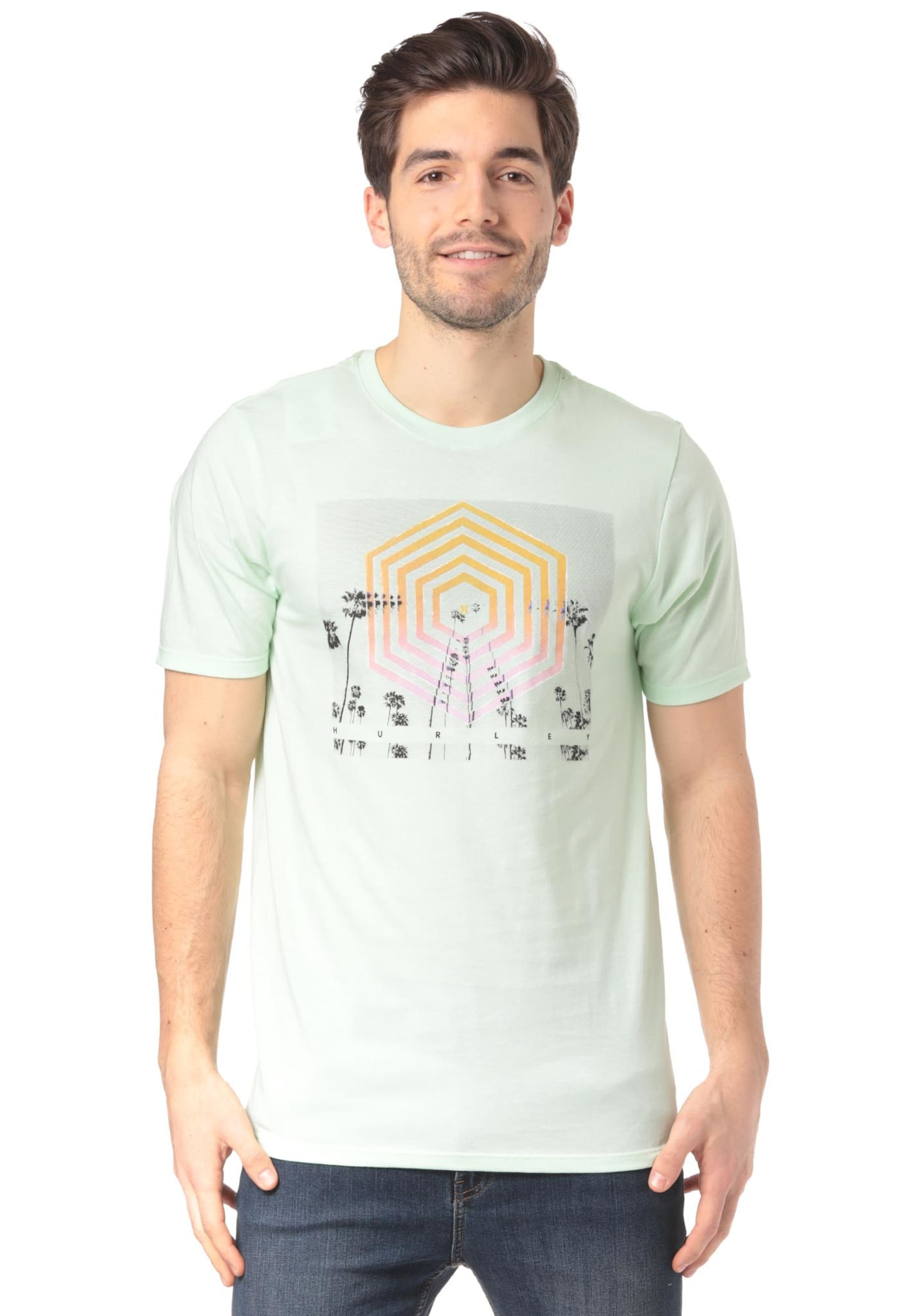 Hex' 'cutter Hurley T shirt In Mint OPXZkiu