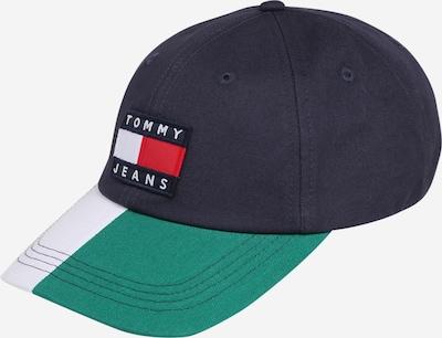 Șapcă 'Heritage' Tommy Jeans pe navy / jad / roșu / offwhite, Vizualizare produs