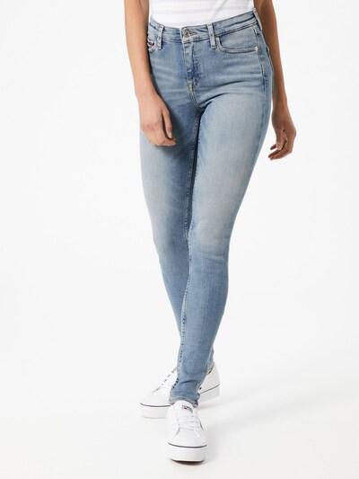 Tommy Jeans Teksapüksid 'NORA' sinine denim: Eestvaade