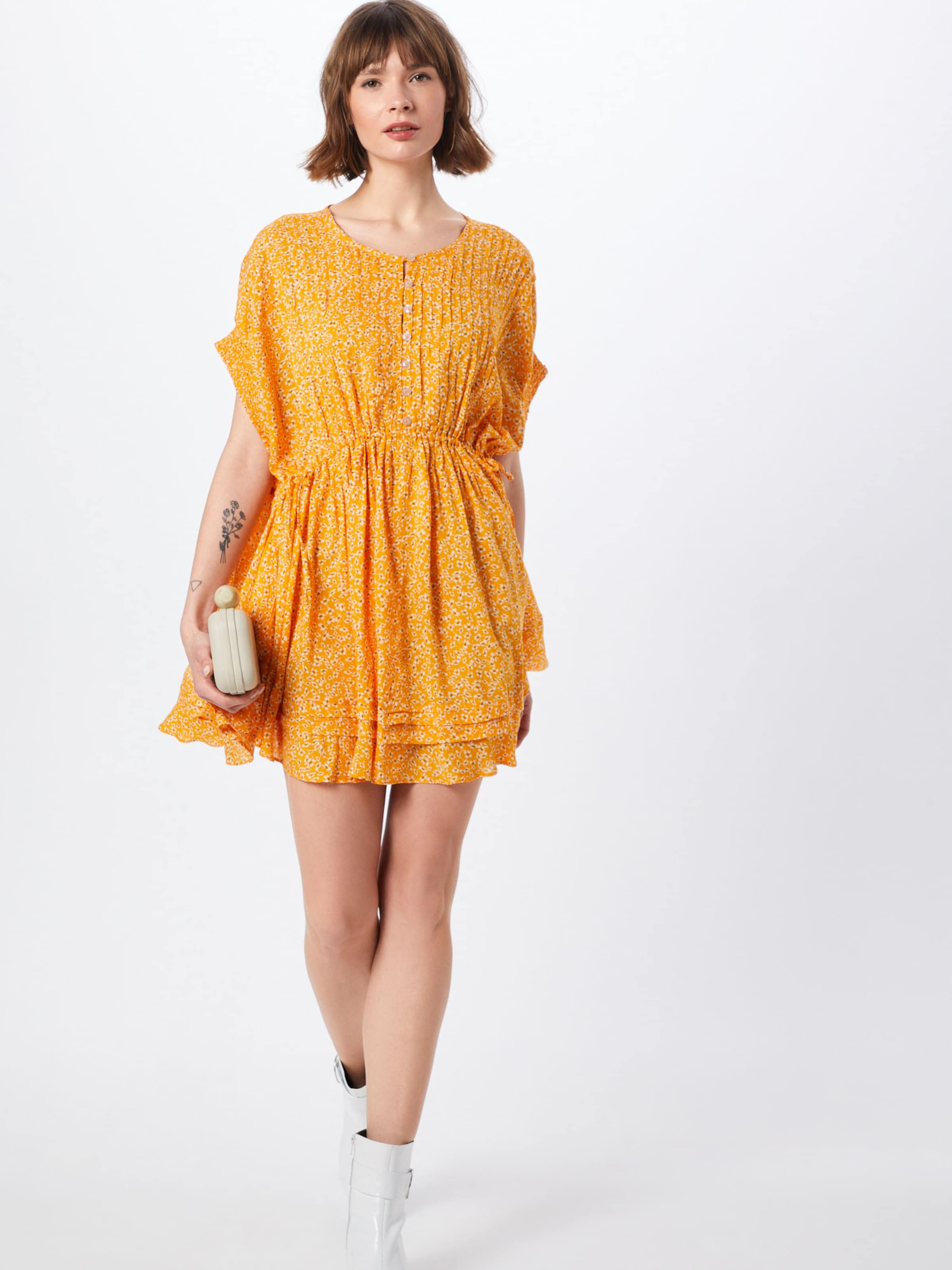 Free Kleid 'one Fine People Goldgelb In Mini' Day Xn0wkP8O