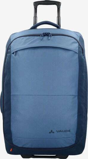 VAUDE Trolley 'Turin M' in de kleur Blauw / Donkerblauw: Vooraanzicht
