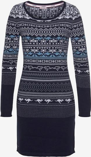 KangaROOS Kleid in blau / schwarz, Produktansicht