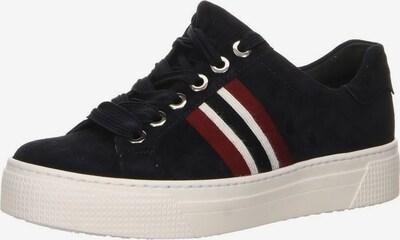 SEMLER Sneaker in nachtblau / dunkelrot / weiß, Produktansicht
