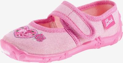 BECK Hauschuhe 'Einhorn' in pink / rosa, Produktansicht