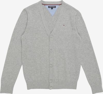 TOMMY HILFIGER Pletená bunda - šedý melír, Produkt