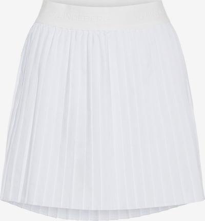 J.Lindeberg Sportrok 'Chloe' in de kleur Wit, Productweergave