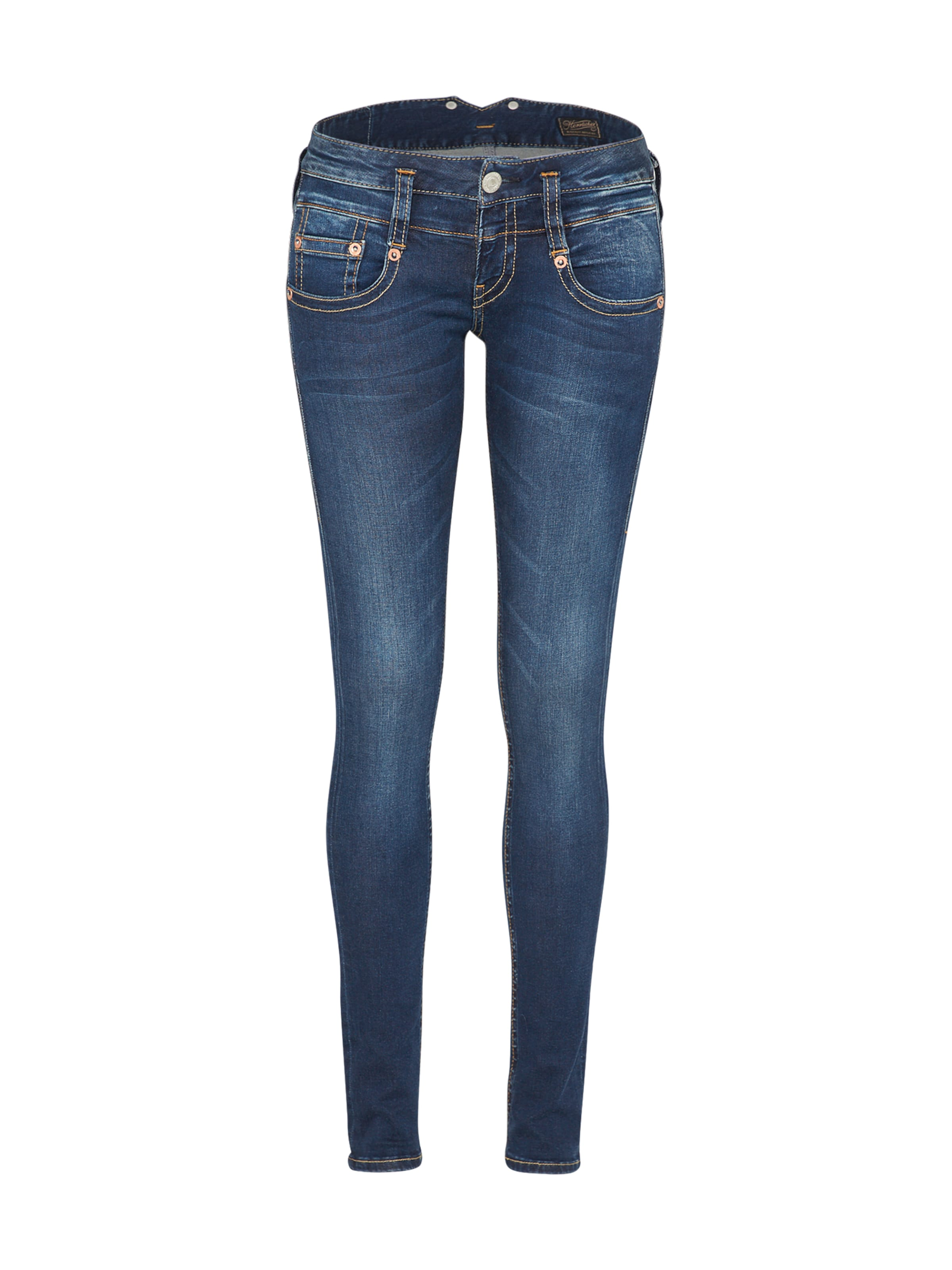 Herrlicher In Denim 'pitch' Blauw Jeans WDbYe2IEH9