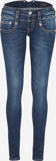 Herrlicher 'Pitch' Jeans im Used Look mit Kontrastnähten in blue denim, Produktansicht