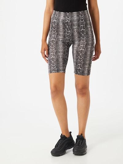 Sublevel Shorts in beige / graumeliert, Modelansicht