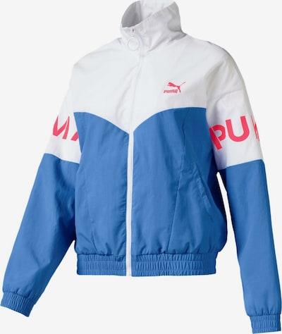 PUMA Trainingsjacke 'XTG W' in blau / weiß, Produktansicht