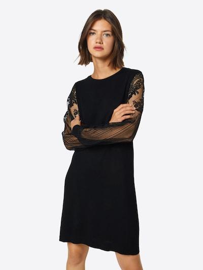 ONLY Obleka | črna barva, Prikaz modela