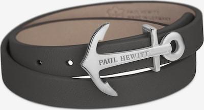 Paul Hewitt Armband in dunkelgrau / silber, Produktansicht