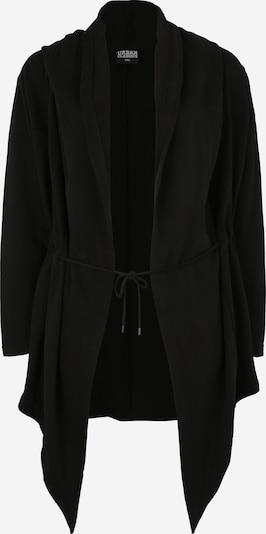 Urban Classics Curvy Pletena jopa | črna barva, Prikaz izdelka