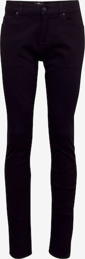 7 for all mankind Jean 'RONNIE LUXE PERFORMANCE' en noir, Vue avec produit