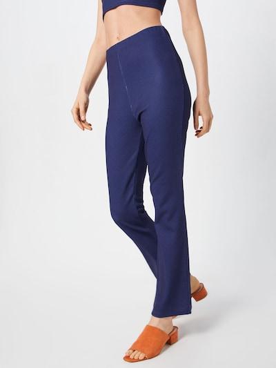 LeGer by Lena Gercke Pantalon 'Lotte' en bleu foncé, Vue avec modèle