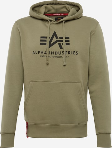 ALPHA INDUSTRIESSweater majica - zelena boja