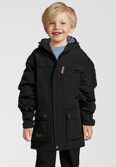 Whistler Outdoorjacke 'Glenwood' in schwarz: Frontalansicht
