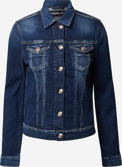 REPLAY Jeansjacke in blue denim, Produktansicht